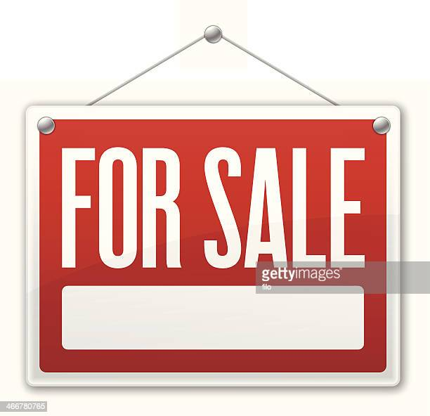 for sale sign - information symbol stock illustrations, clip art, cartoons, & icons