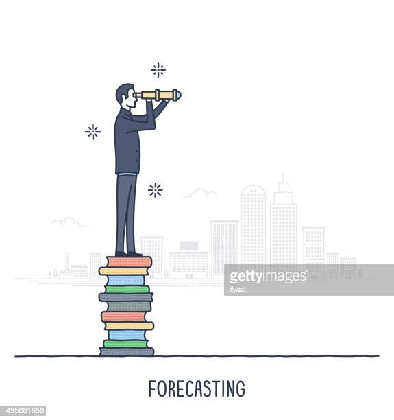 ilustrações, clipart, desenhos animados e ícones de a previsão - previsão
