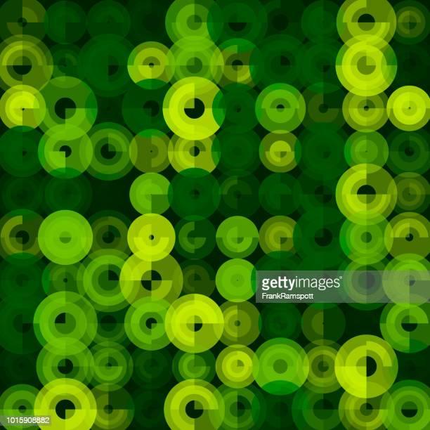 Wald-abstrakt Kunst Kreismuster