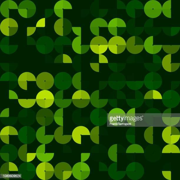 Wald-abstrakt Kreis-Design-Pattern