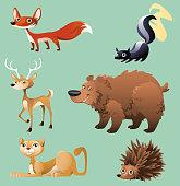 Forest animals 2