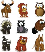 Forest Animals Cartoons