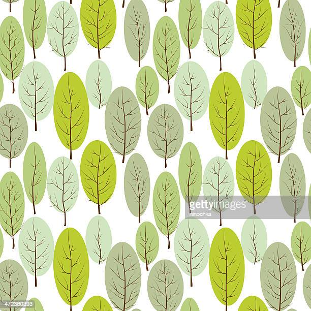 forest background - tree bark stock illustrations, clip art, cartoons, & icons