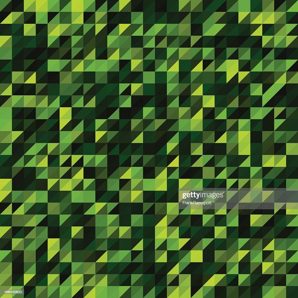 Forest Triangle Geometrie Muster : Vektorgrafik