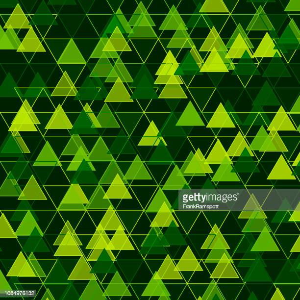 Wald-Dreieck-Vektor-Design-Pattern