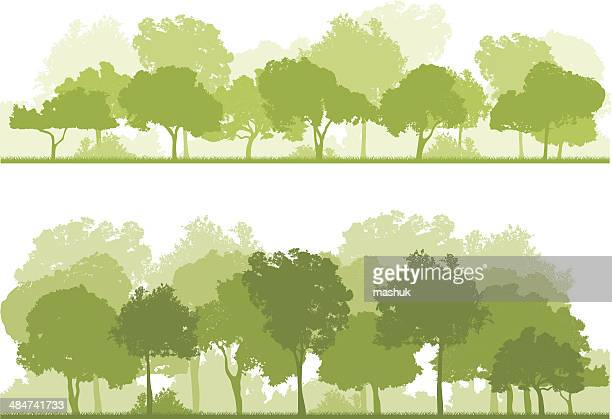forest - landscaper stock illustrations, clip art, cartoons, & icons