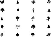 Forest Vector Solid Icons 5