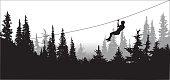 Forest Zipline Adventures