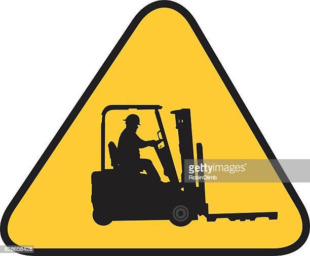 Forklift Warning Sign
