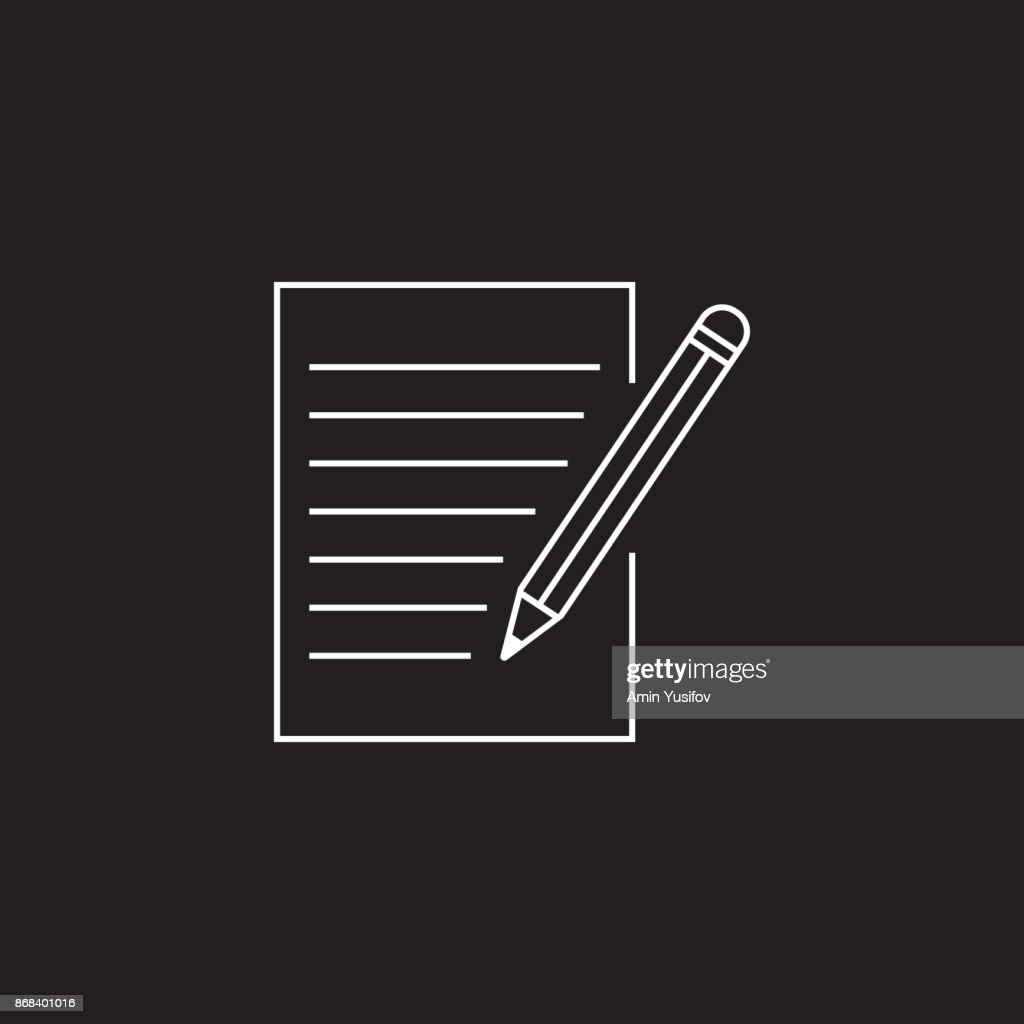 form line icon, outline vector logo illustration, linear pictogr