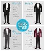 Formal dress code guide for men