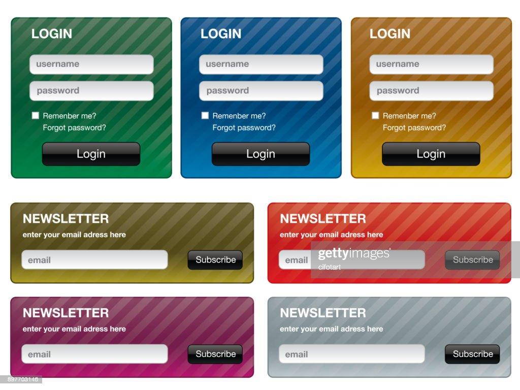 forms for internet website