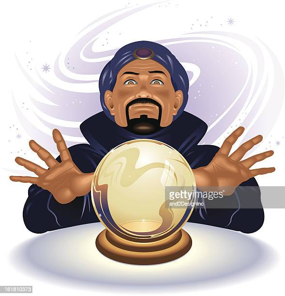30 Top Fortune Teller Stock Illustrations, Clip art