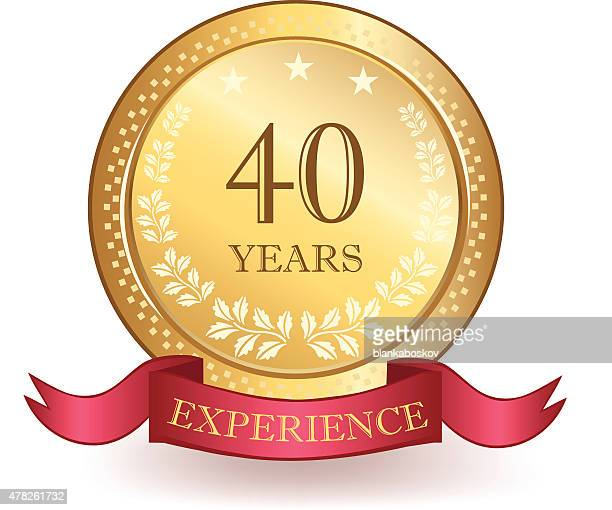 Forty Years Experience Banner