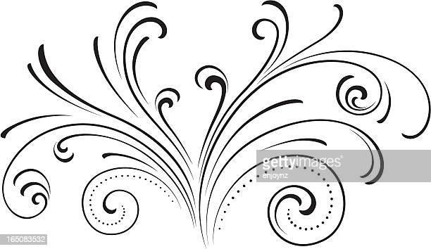 fountain swirl - fountain stock illustrations, clip art, cartoons, & icons