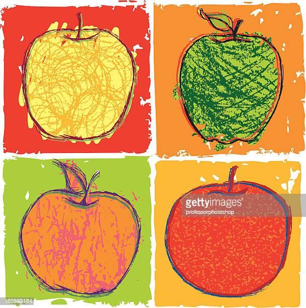 4 つのりんご