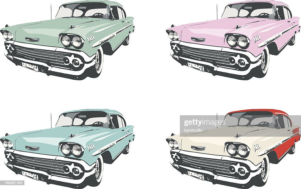 Four Classic Cars