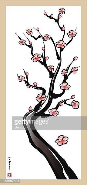Four Gentlemen of Flowers - plum