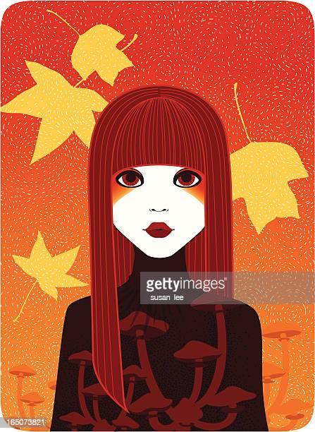フォーシーズンズ-秋の少女