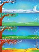 Four Seasons - Banners
