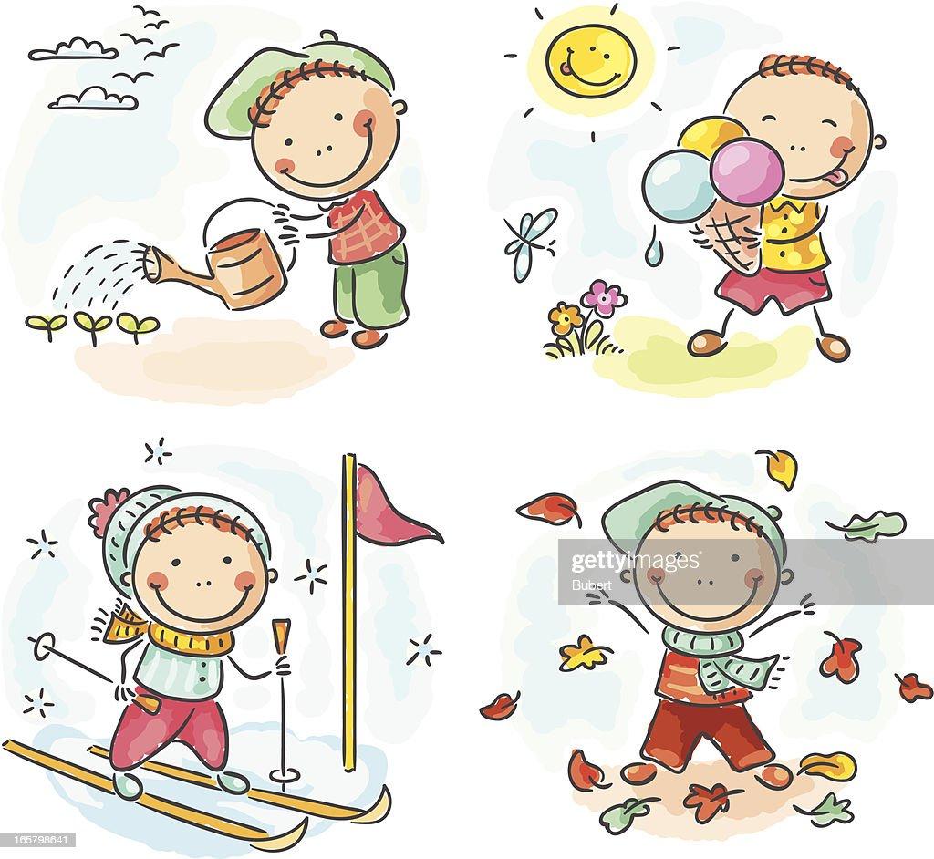 Four seasons (boy)