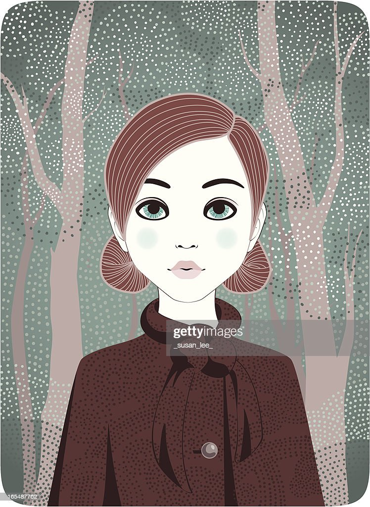 Four Seasons - Winter Girl