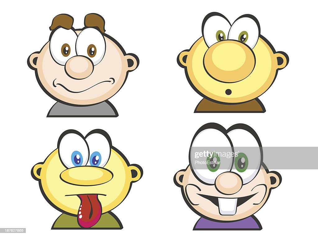 Four Set icons faces