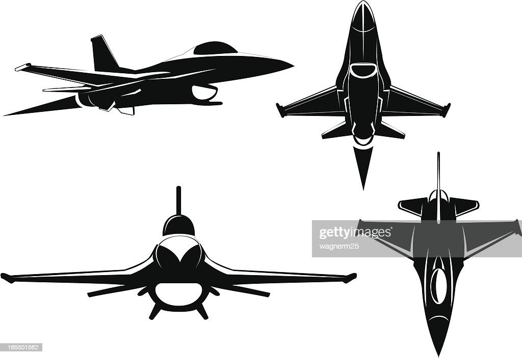 F-16 four views