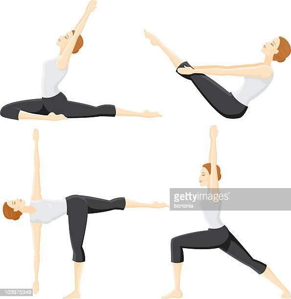 Four Yoga Poses