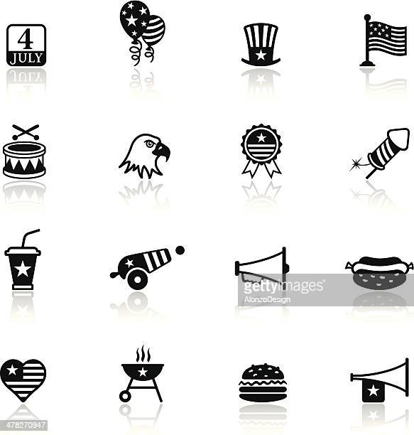 Fourth of July Icon Set
