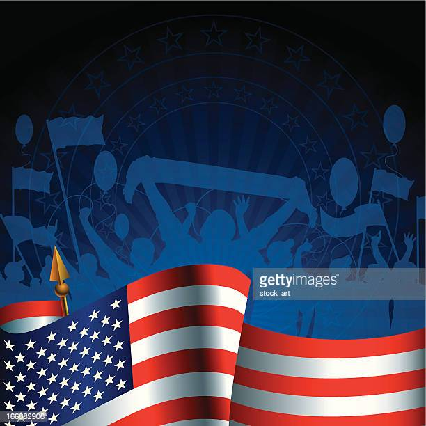 fourth of july (independence day) - politics background stock illustrations