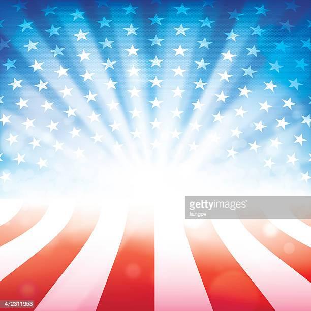 fourth of july - patriotism stock illustrations