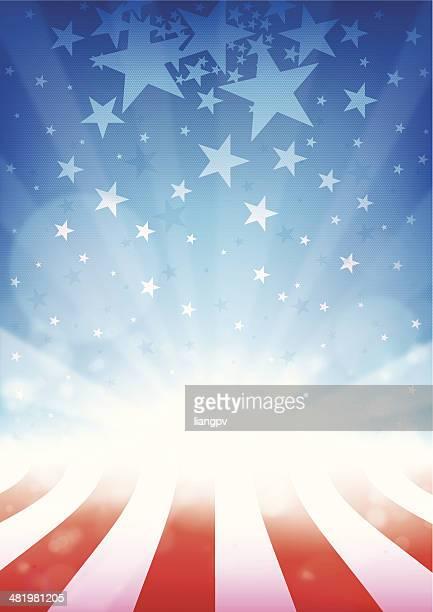 fourth juli - patriotismus stock-grafiken, -clipart, -cartoons und -symbole