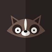 Fox icon great for any use. Vector EPS10.