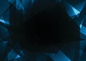 fracture frame abstract dark background