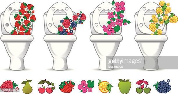 香り高い用のボウル - bathroom点のイラスト素材/クリップアート素材/マンガ素材/アイコン素材