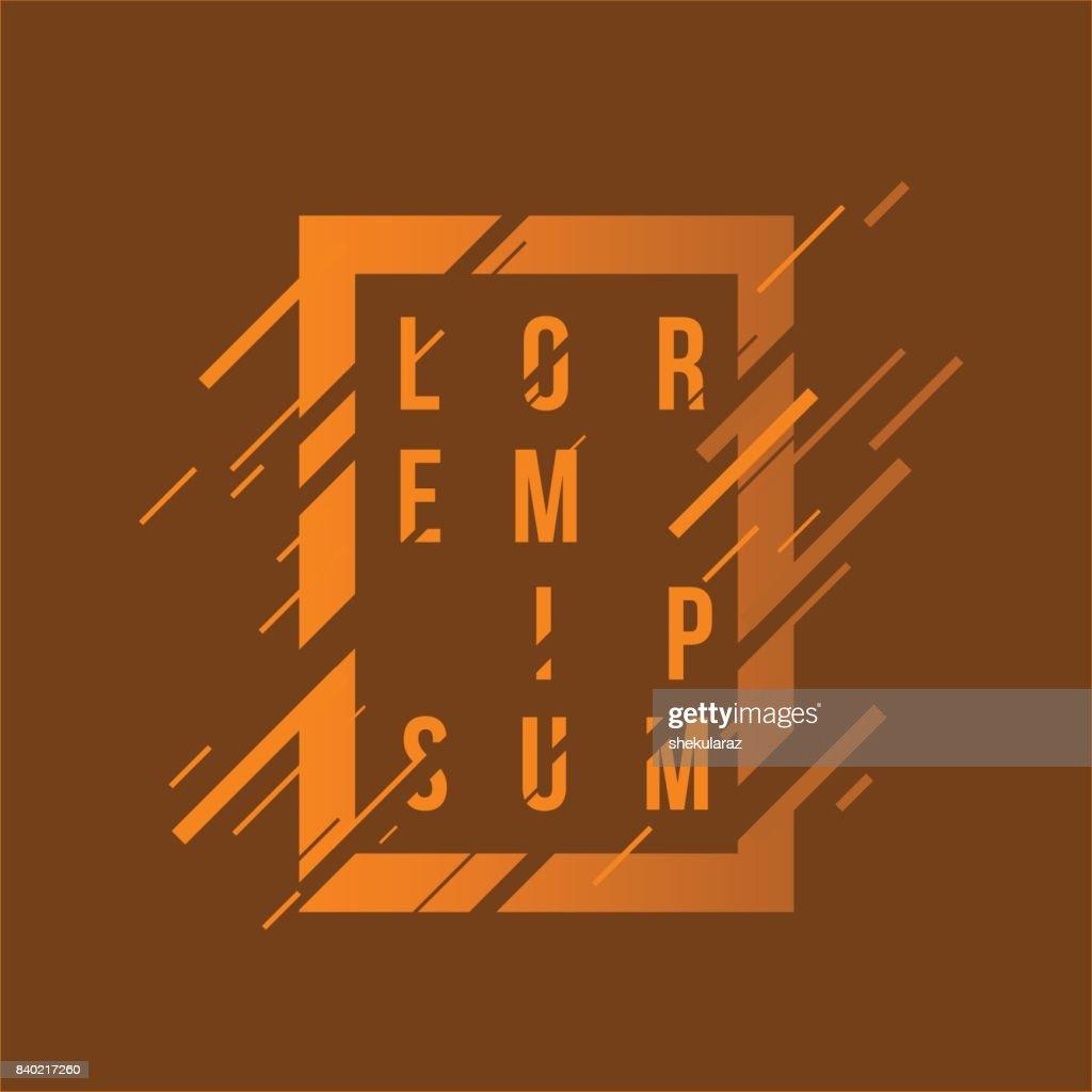 Elegant Element Geometrique Pour Cartes De Visite Des
