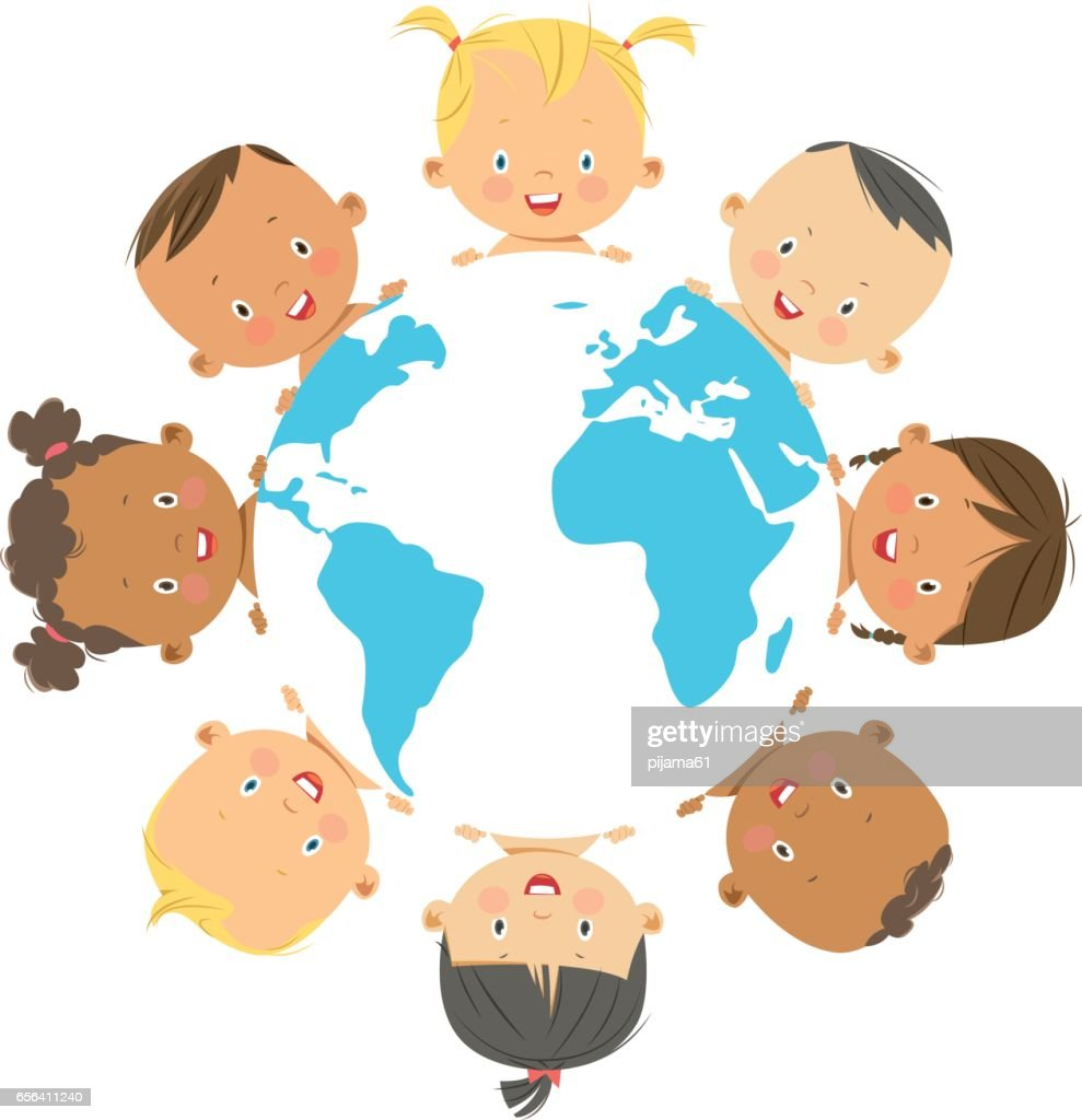 Frame Baby Kids Vector Art | Getty Images