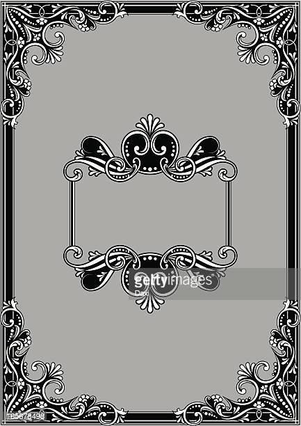 frame design - gothic style stock illustrations, clip art, cartoons, & icons