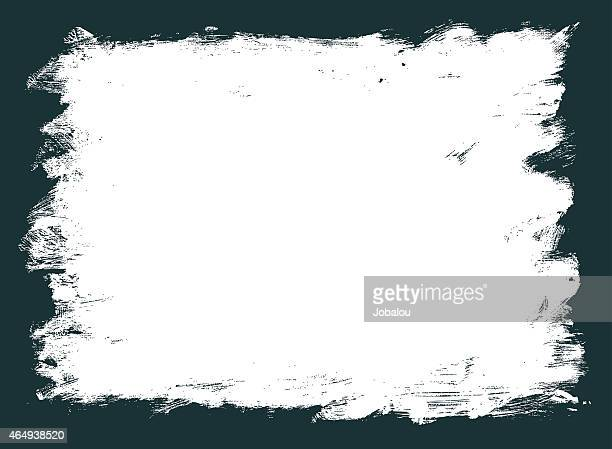 grunge frame in used-optik - bürsten stock-grafiken, -clipart, -cartoons und -symbole