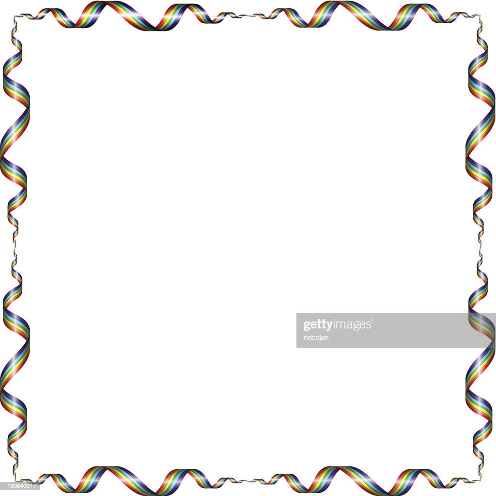 Frame From A Rainbow Vector Art | Getty Images