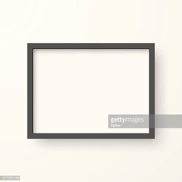 Frame auf weißem Hintergrund
