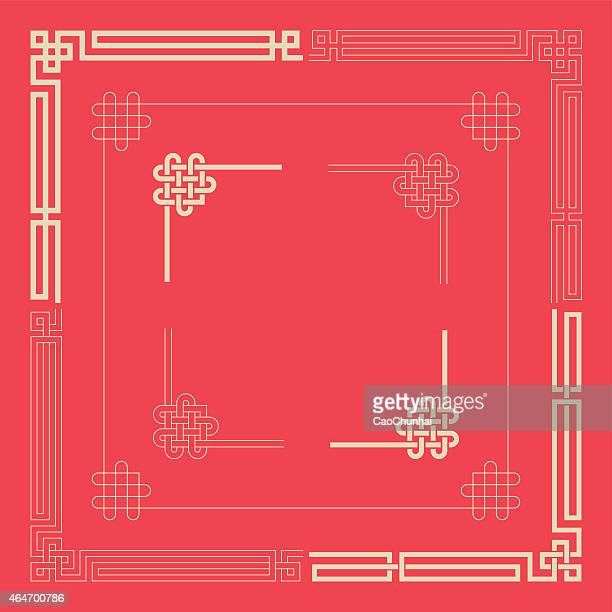 frames of chinese style - china stock illustrations