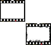 frames of film, photo frames,