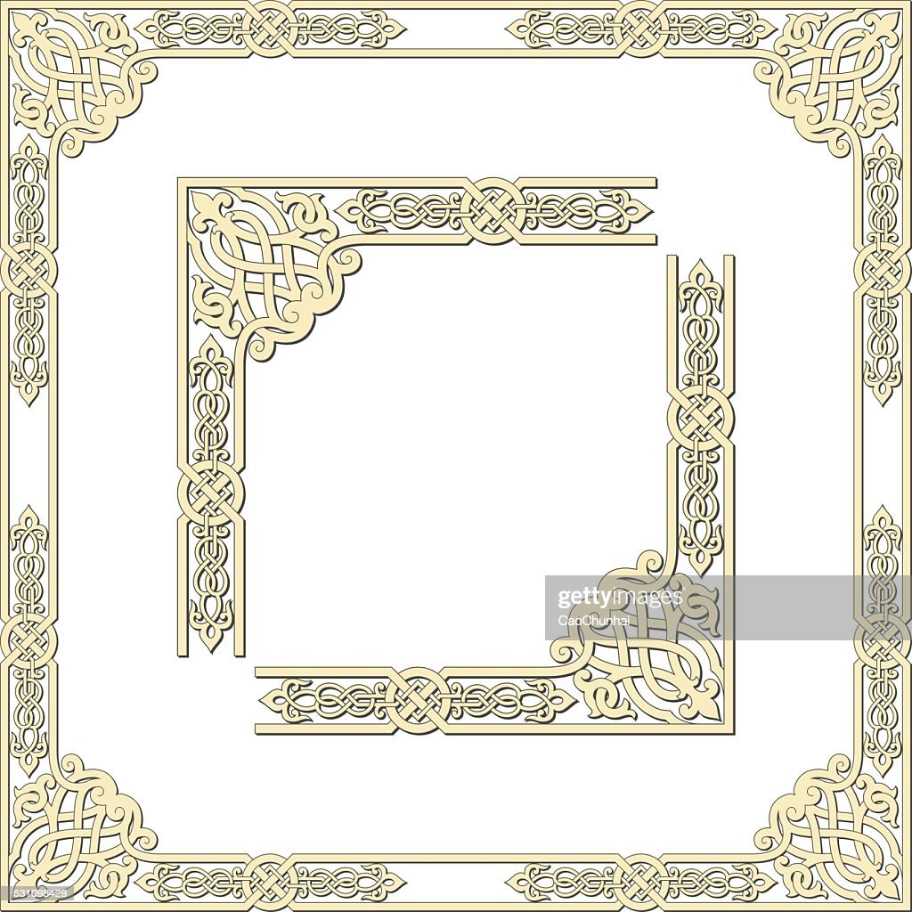 Frames of medieval style