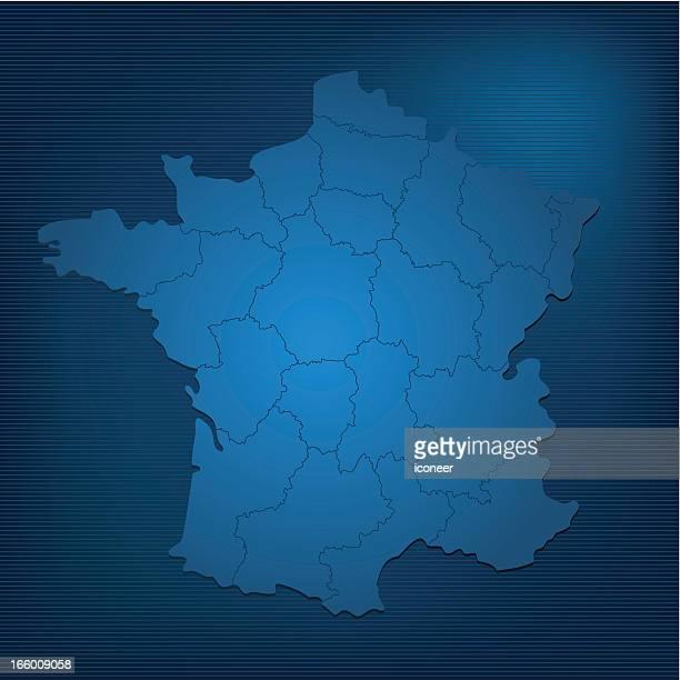 France dark map