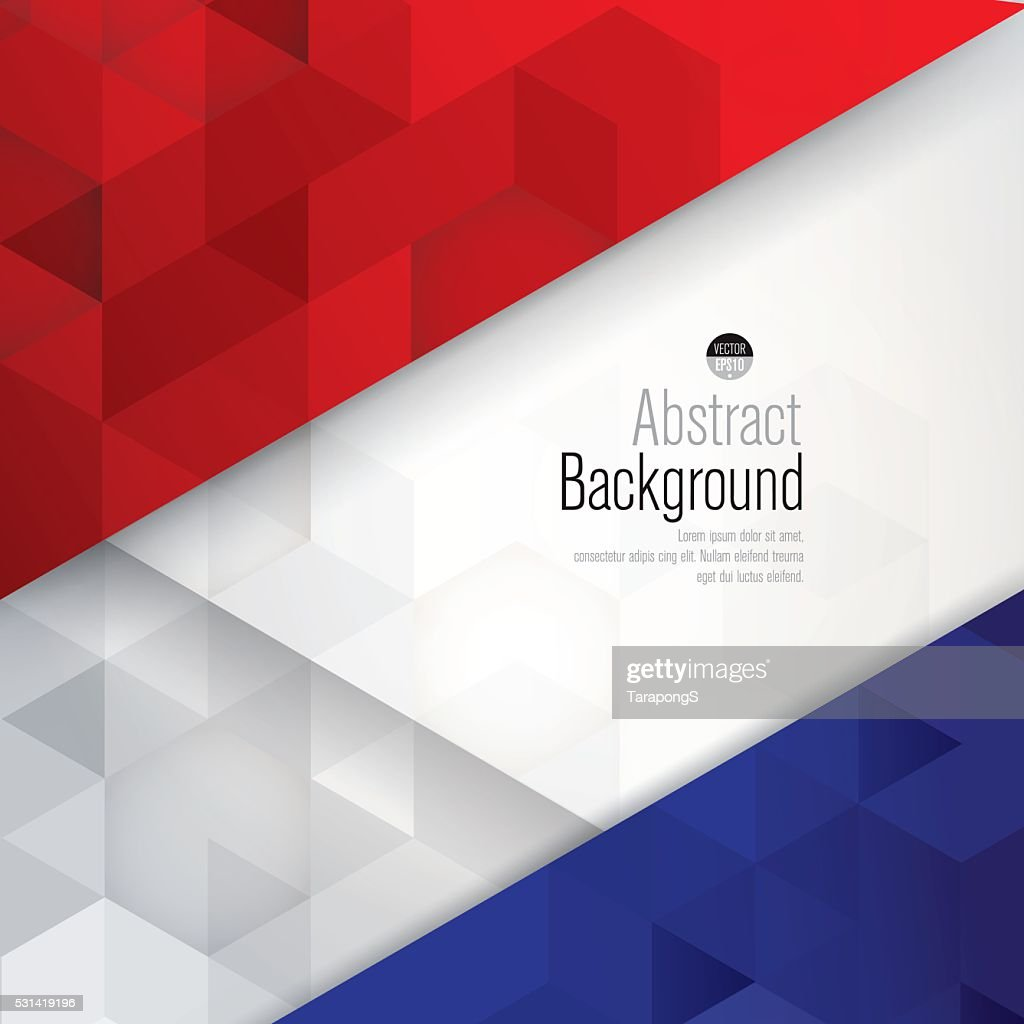 France flag colors background.