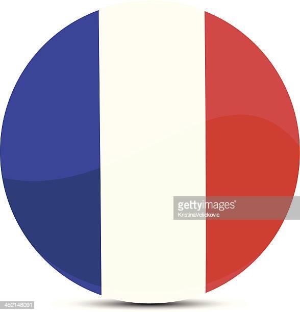 stockillustraties, clipart, cartoons en iconen met france flag - franse vlag
