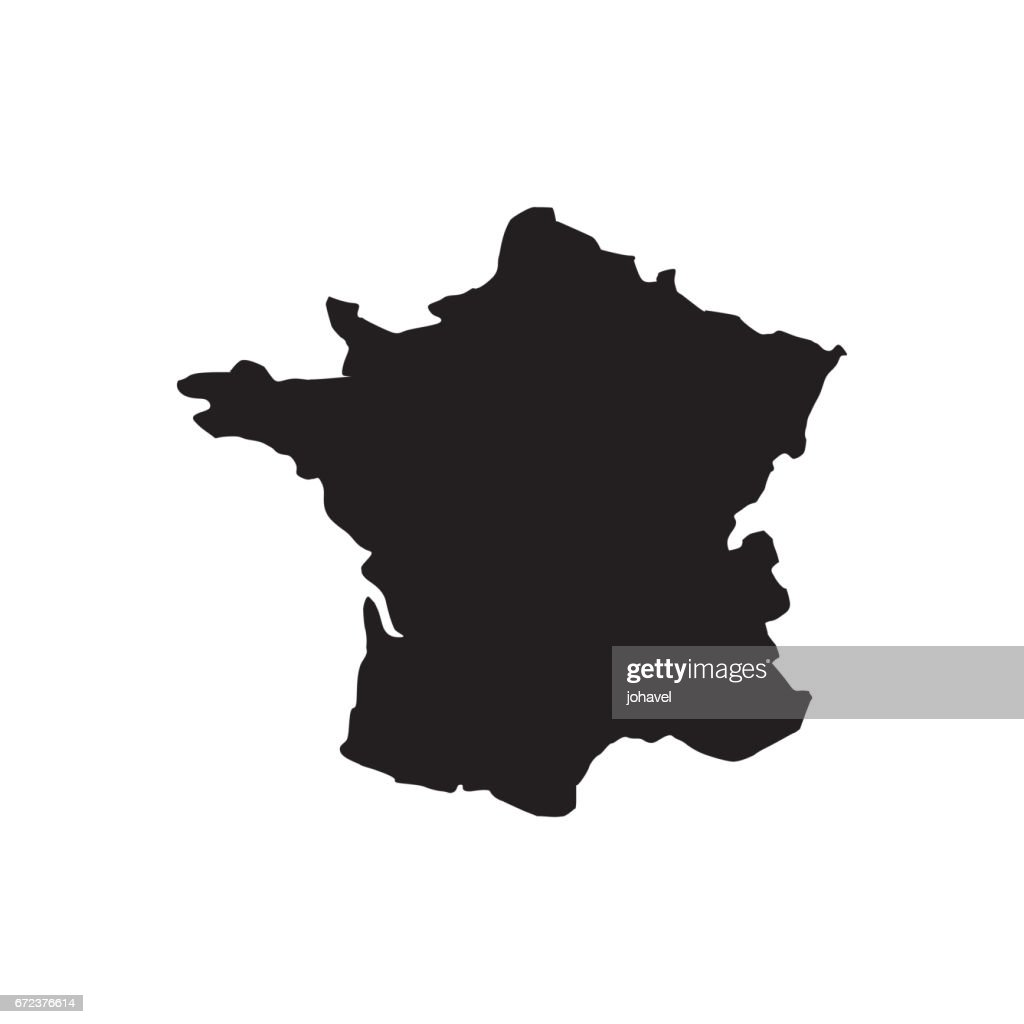 france map geography icon