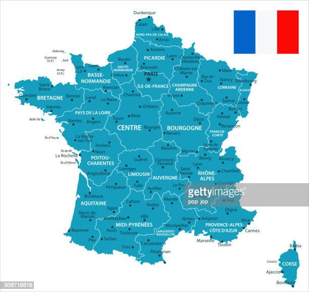 11 - france - murena isolated 10 - auvergne rhône alpes stock illustrations, clip art, cartoons, & icons